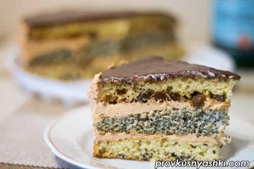 Торт «Три начинки»