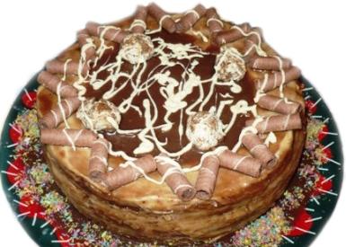 Торт «Медово-шоколадный»