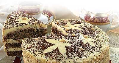 Торт «Осенние листья»