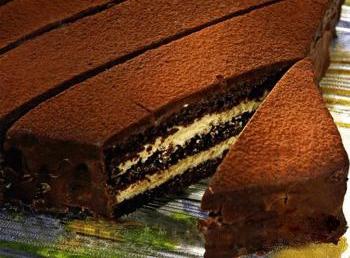 Торт «Трюфель» с ароматом кофе