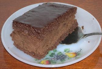 Торт бисквитно-шоколадный