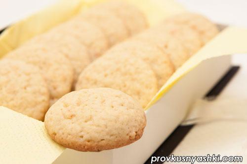 Ароматное цитрусовое печенье