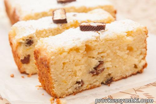 Творожный кекс с цитрусовым ароматом