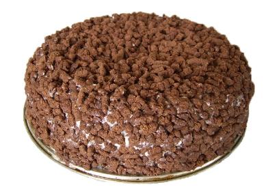 Торт «Кудри Поль Робсона»