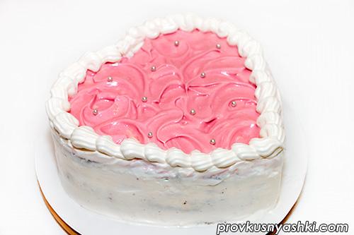 Торт «Сердце» на День святого Валентина