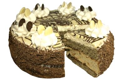 Торт «Маковый со сметано-сливочным суфле»