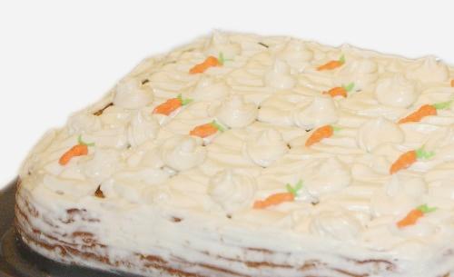 Торт «Морковный» с творожно-масляным кремом