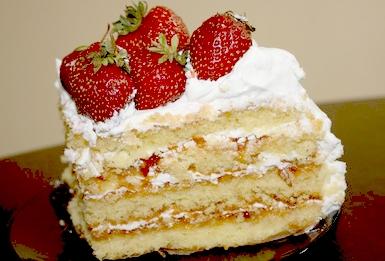 Торт «Клубничный со сливочным кремом»