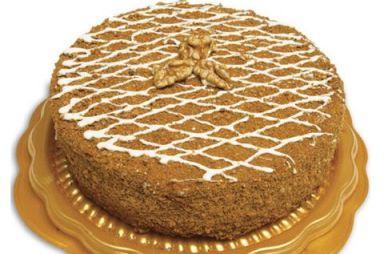 Торт «Медовый с шоколадным кремом»