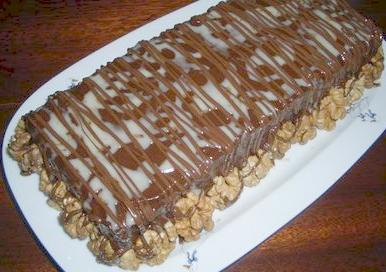 Торт «Шоколадный с джемом»
