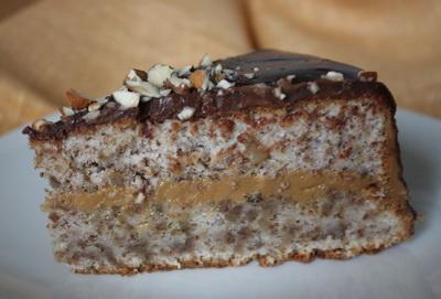Ореховый торт «Венесуэла»